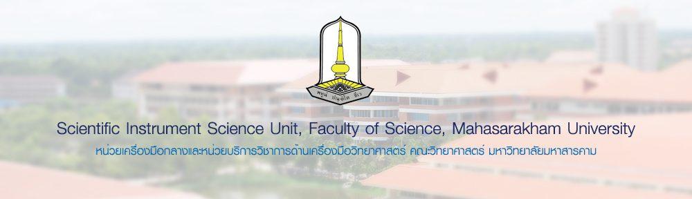 Scientific Instrument Science Unit